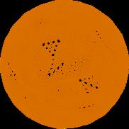 Globe 3D Orange