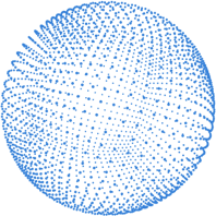 Sphere 3D Blue