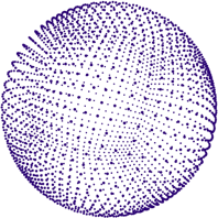 Sphere 3D Purple